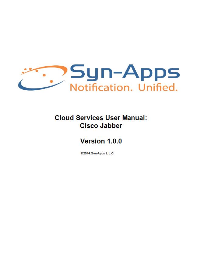 Cisco Jabber IM Notifier User Guide