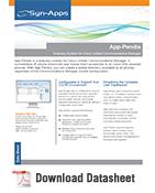App-Pendix Datasheet