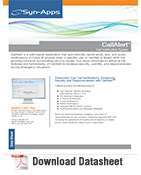 CallAlert Datasheet