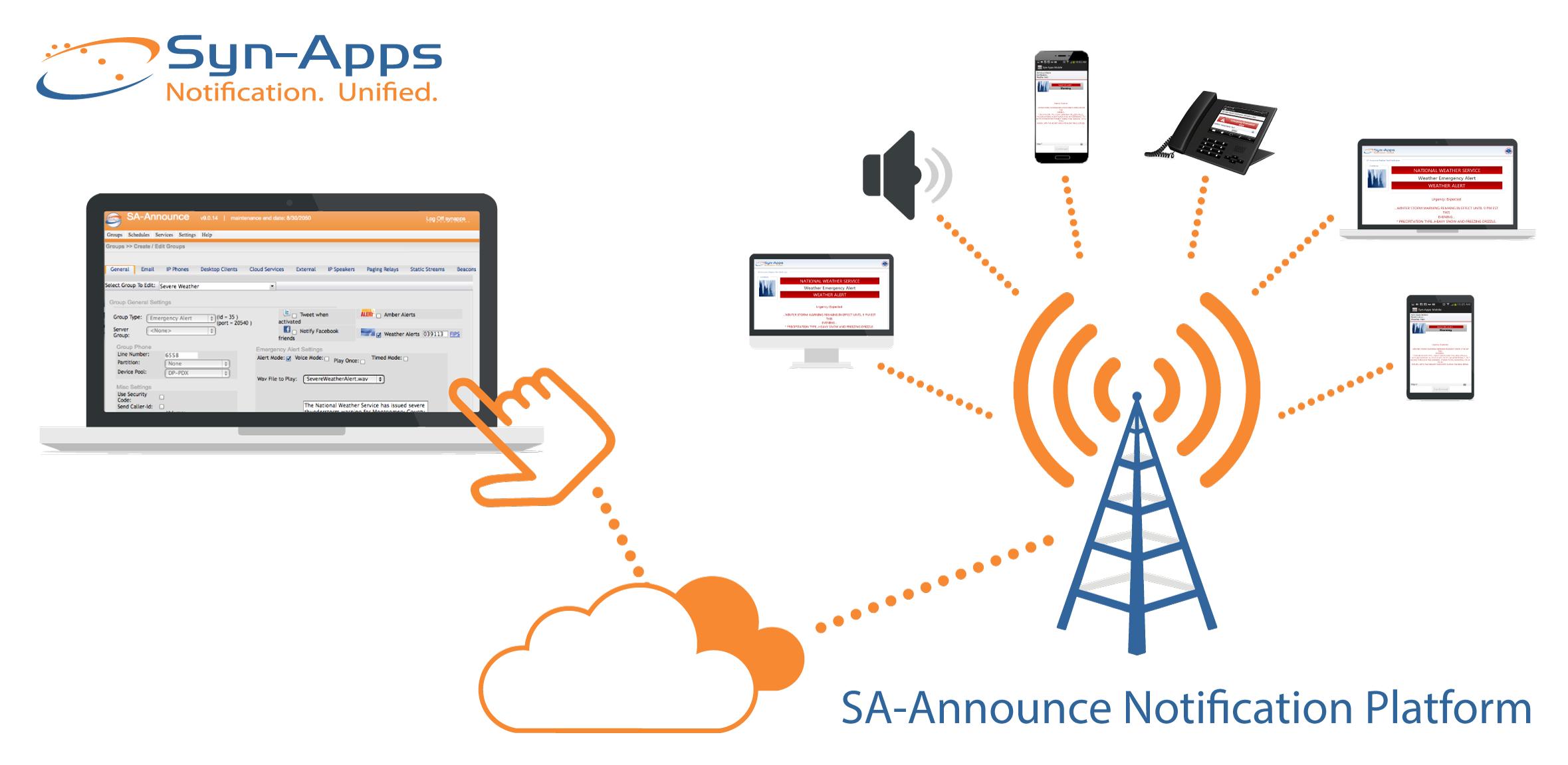 SA-Announce platform