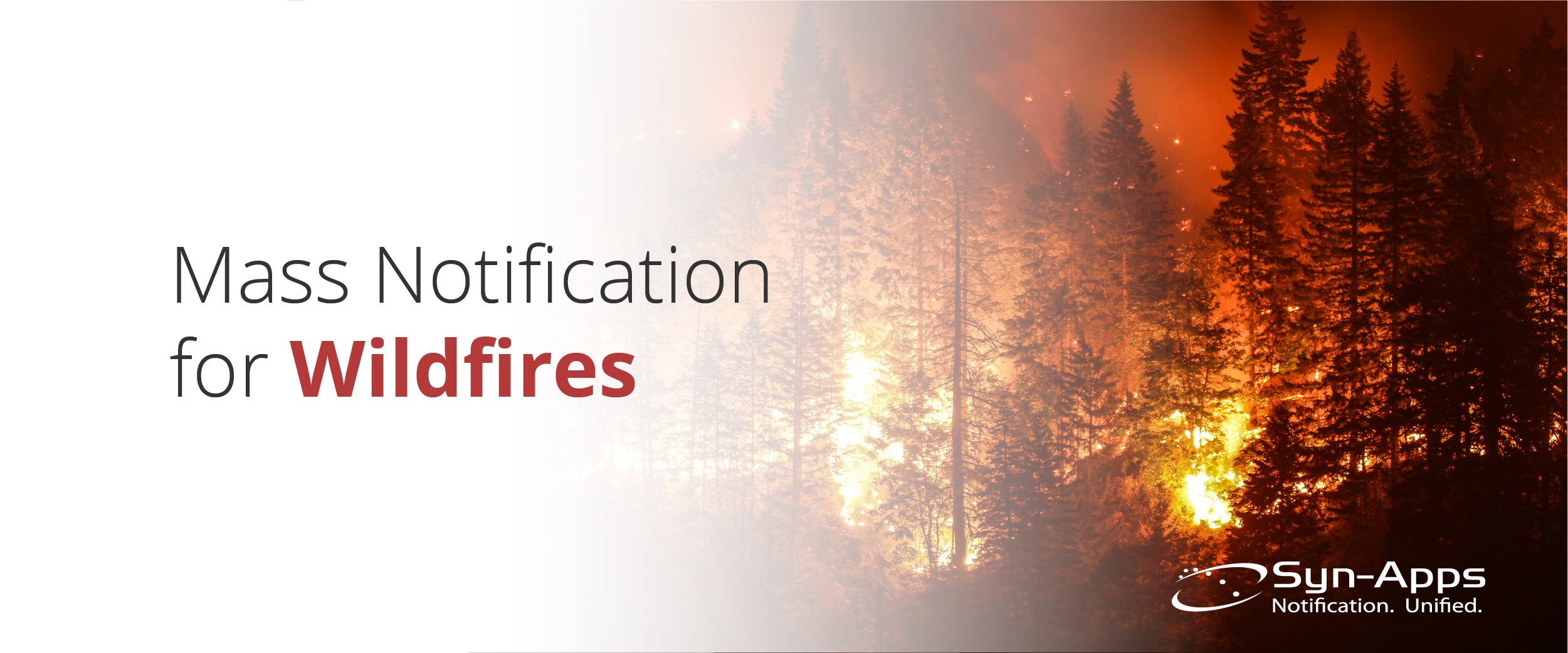 Mass Notification in Wildfires
