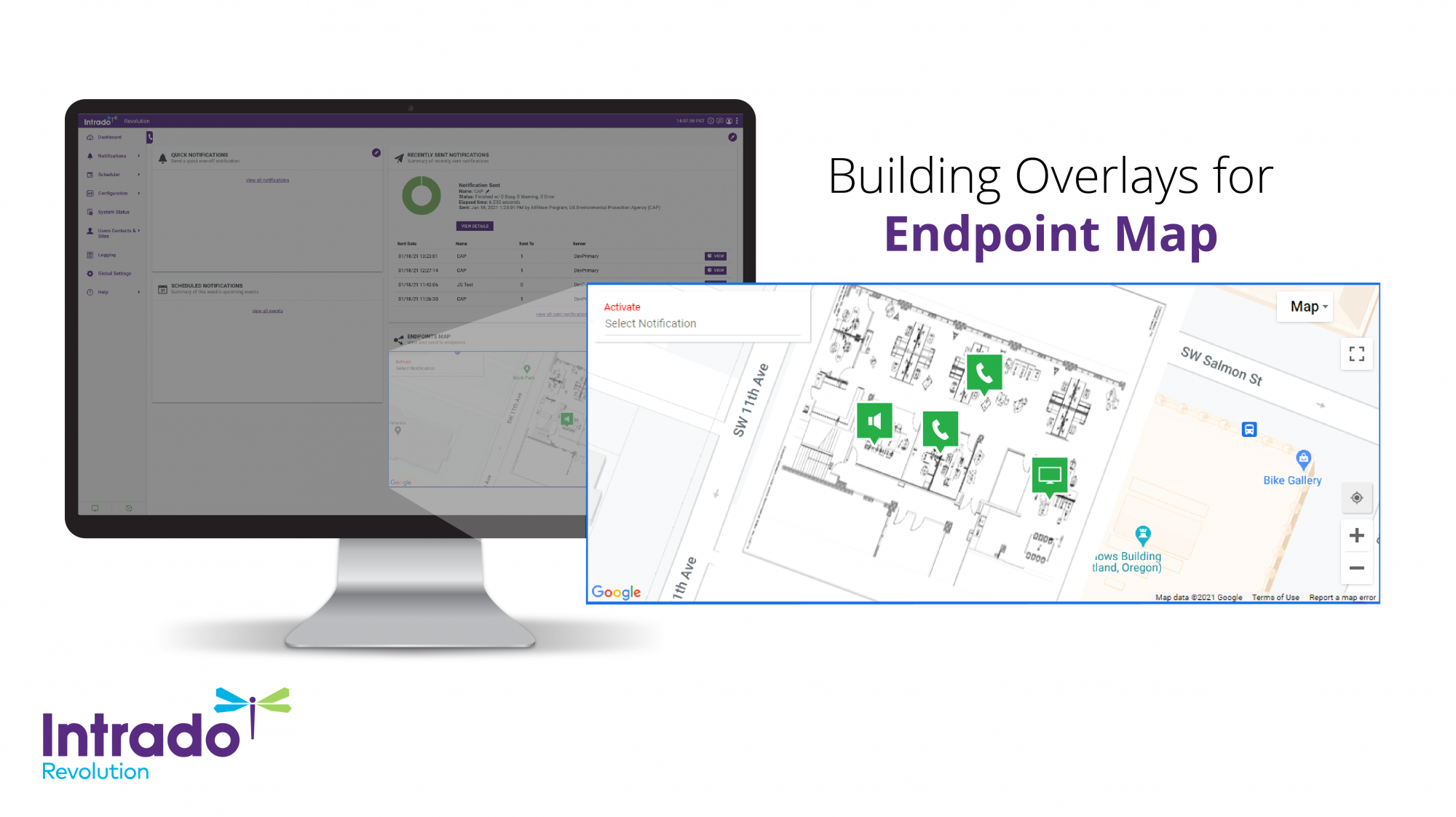 Building Overlays for Endpoint Map