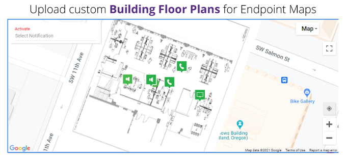 Upload Custom Building Floor Plans