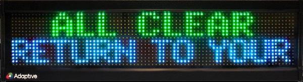 Alpha MNS 4080 RGB Display