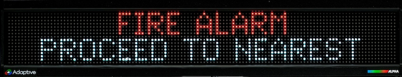Alpha MNS 4120 RGB Display