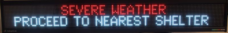 Alpha MNS 4160 RGB Display