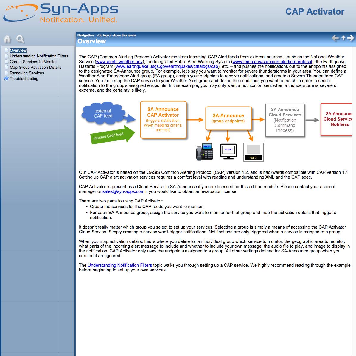 CAP Activator Admin Guide