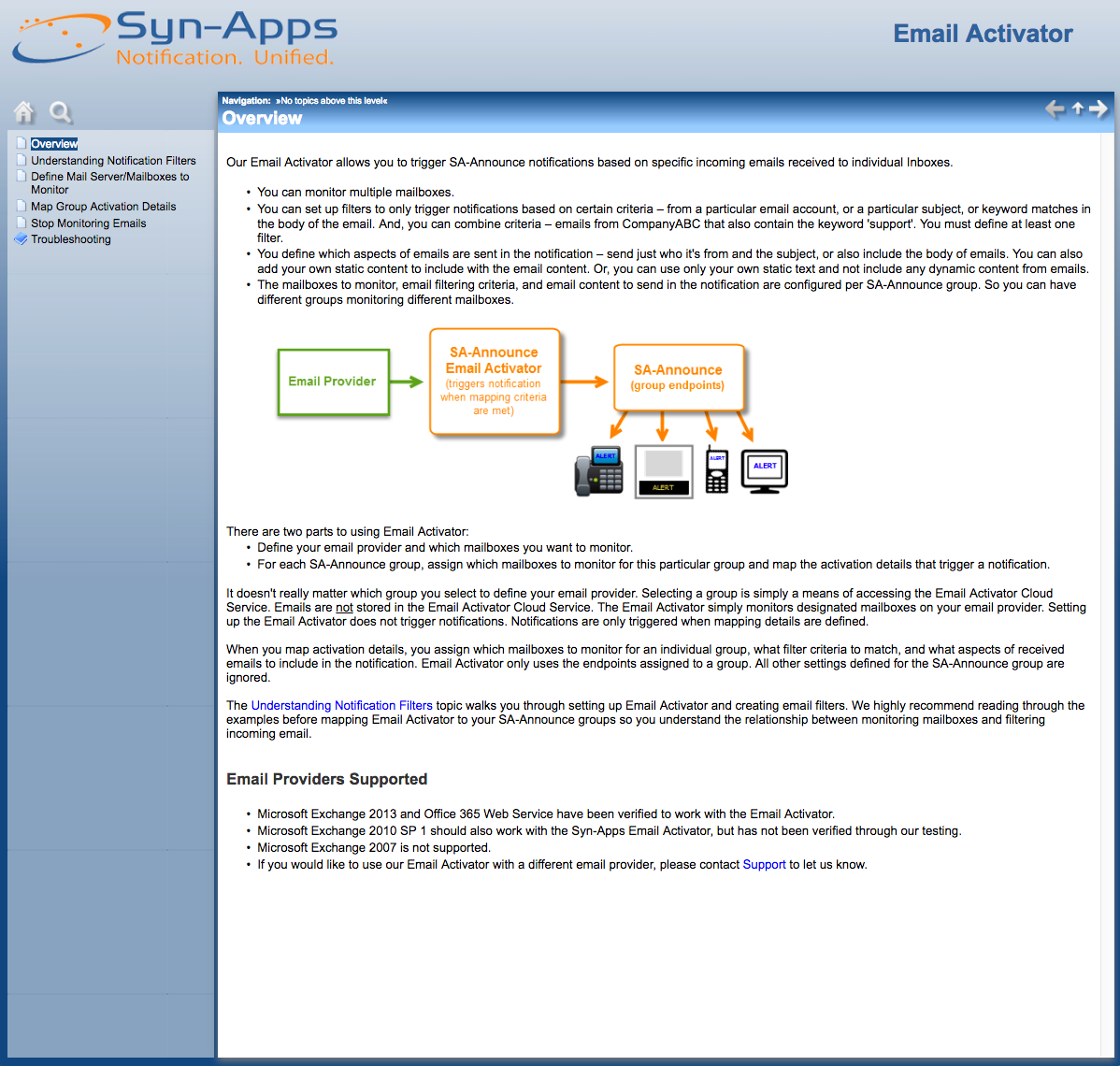 Email Activator Admin Guide