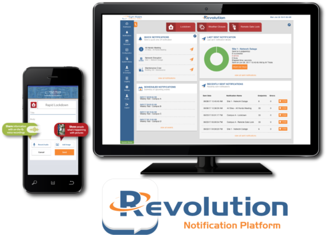 Revolution Emergency Mass Notification Software for Avaya