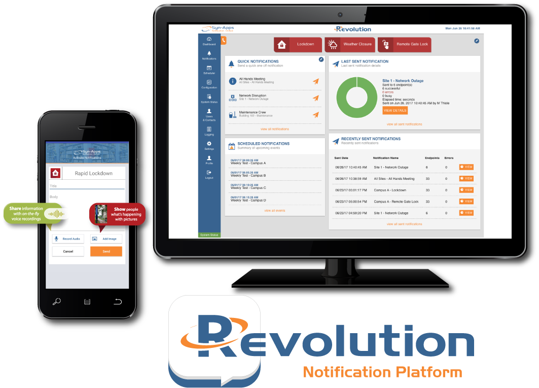 Revolution Emergency Mass Notification Platform is completes interoperability testing with BroadSoft BroadWorks