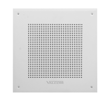 Valcom One-Way Square Wall Speaker