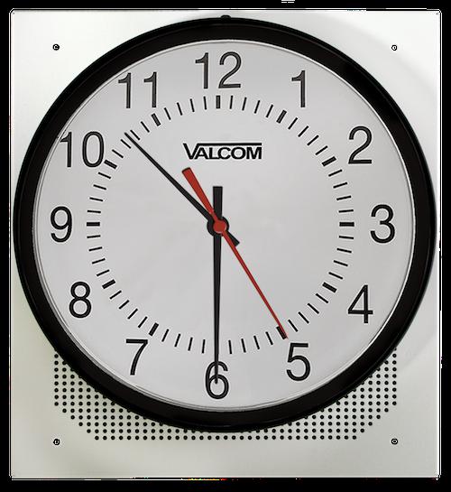 Valcom Analog Clock/Speaker