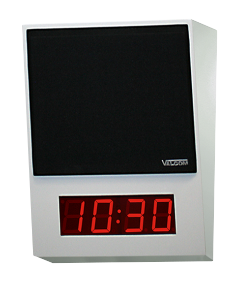 Talkback Speaker with Digital Clock