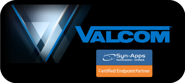 Valcom is an official Syn-Apps Certified Endpoint Partner
